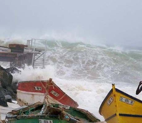 Ilha do Sal: Furacão Fred destrói Pontão de Santa Maria