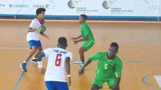 Jogos da CPLP: Cabo Verde vence São Tomé e Príncipe em andebol